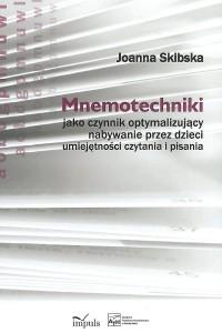 Book Cover: Mnemotechniki jako czynnik optymalizujący...