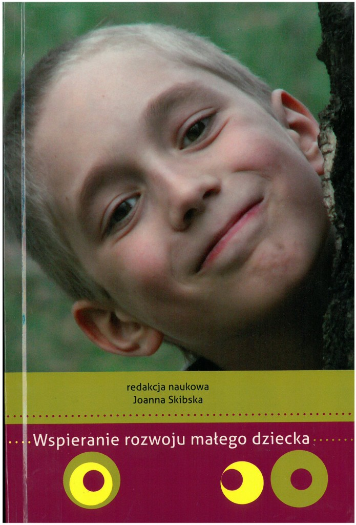 Book Cover: Wspieranie rozwoju małego dziecka...